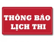 LỊCH THI NAT-TEST 2019