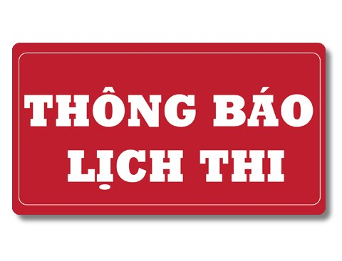 LỊCH THI TOPJ - 2019